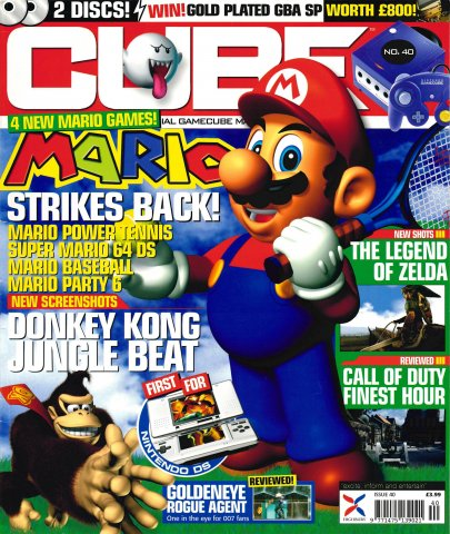 Cube Issue 40 (January 2005)