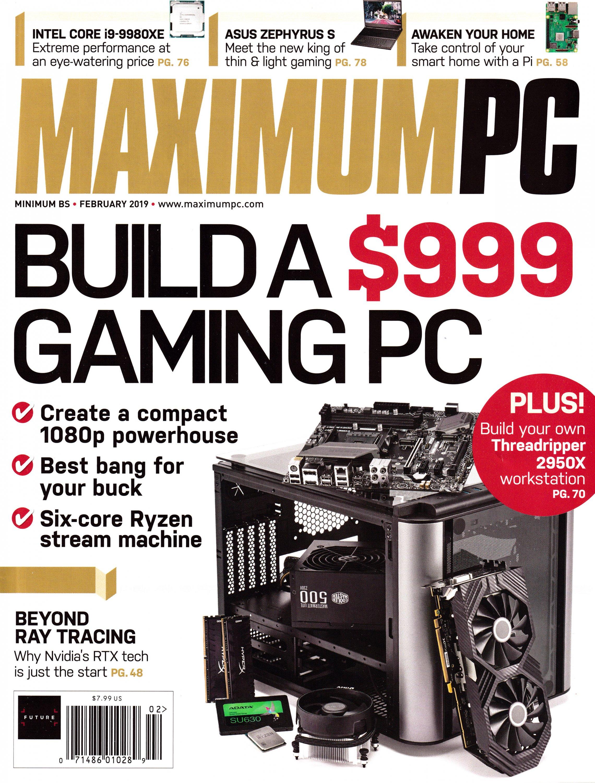 Maximum PC Volume 24 No 02 (February 2019)