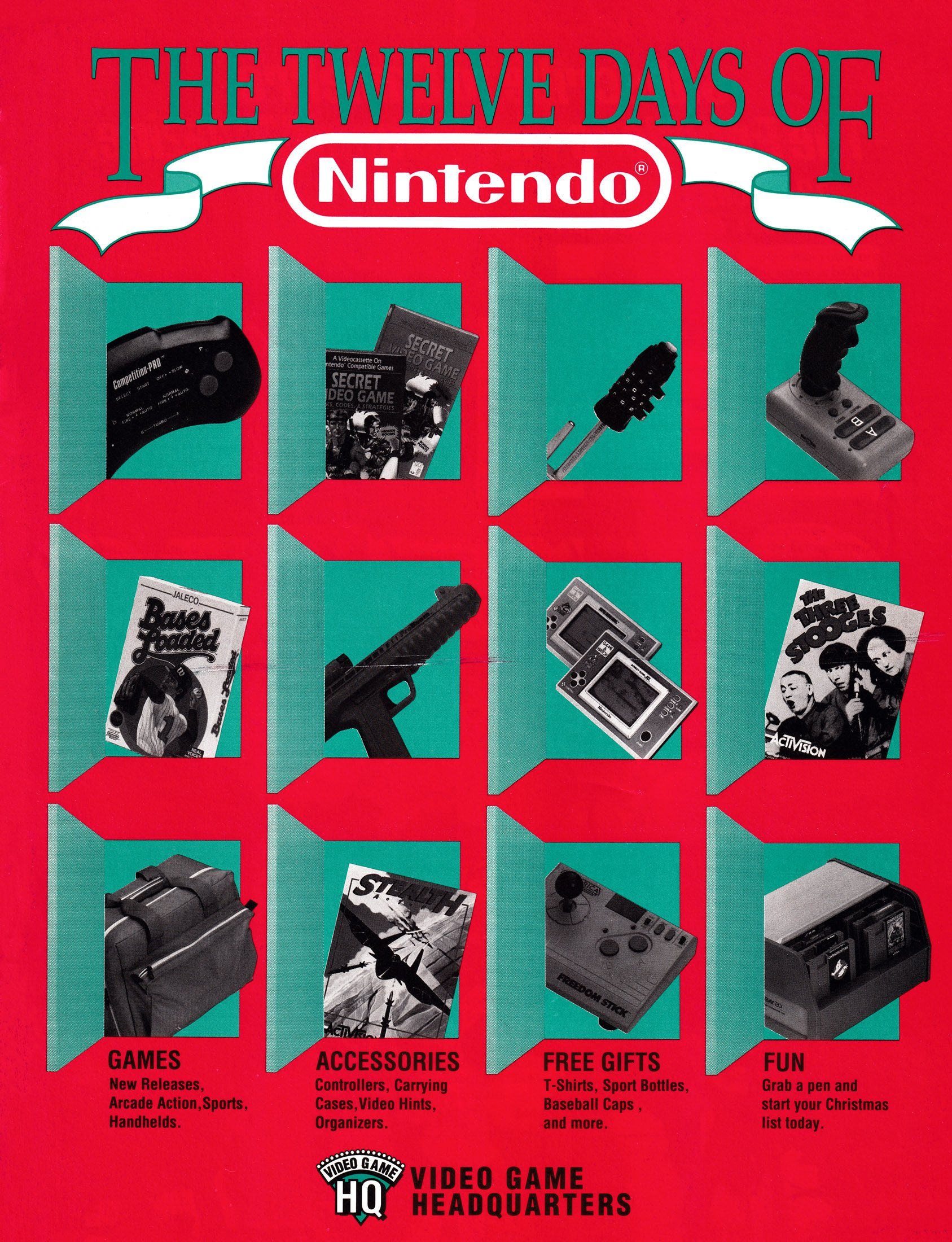The Twelve Days of Nintendo (March 1992)