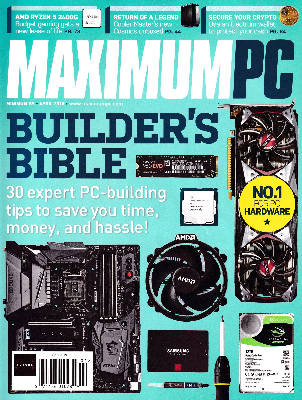 Maximum PC Volume 23 No 05 (April 2018)