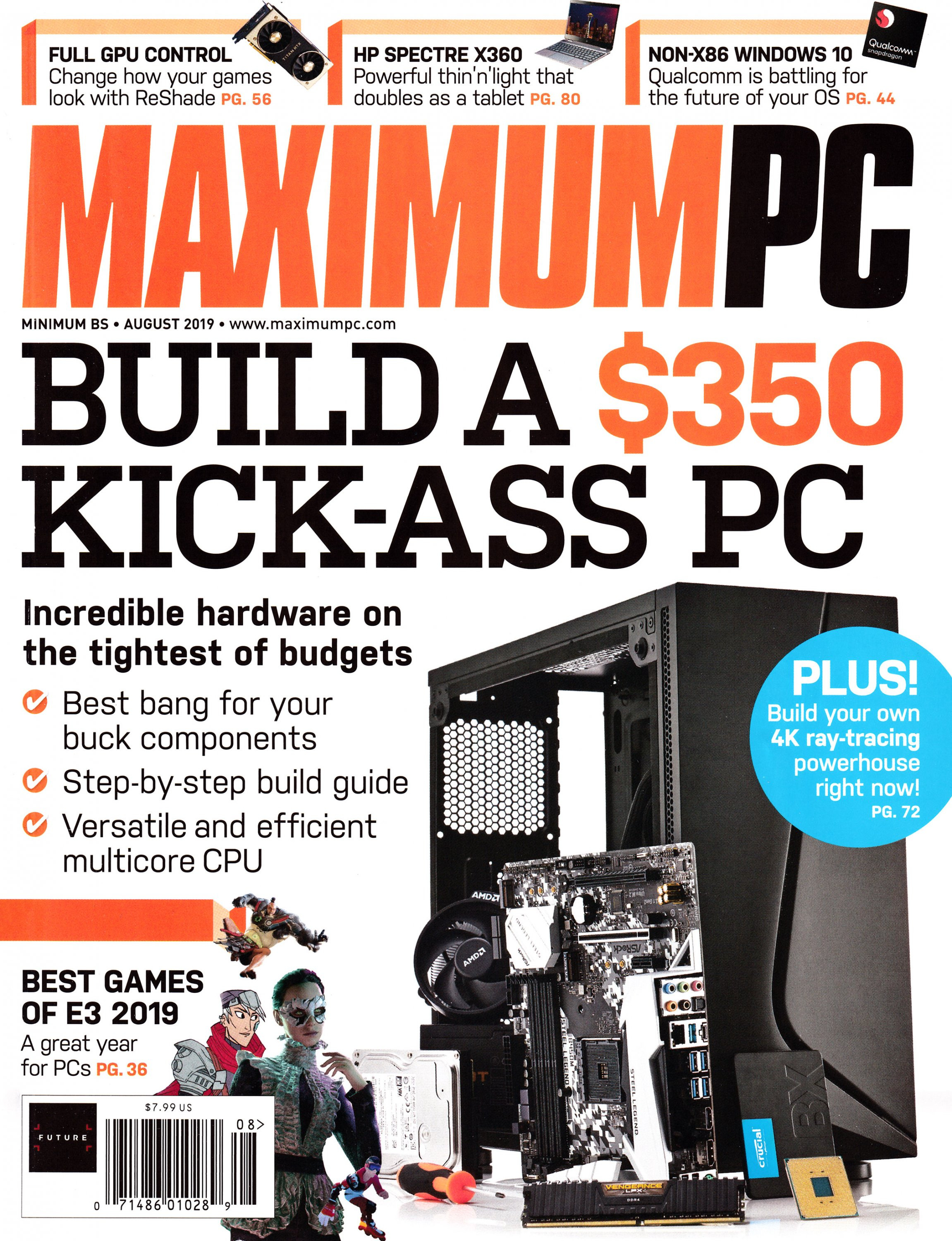 Maximum PC Volume 24 No 08 (August 2019)
