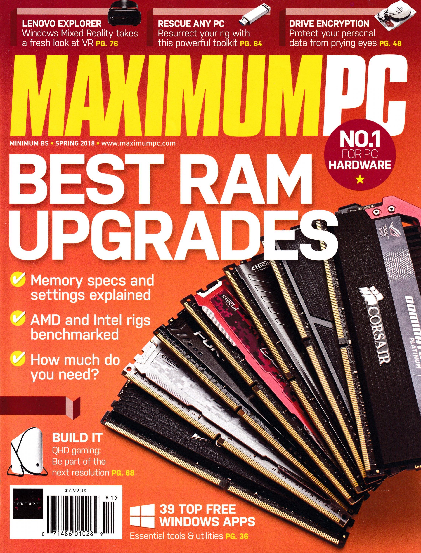Maximum PC Volume 23 No 04 (Spring 2018)