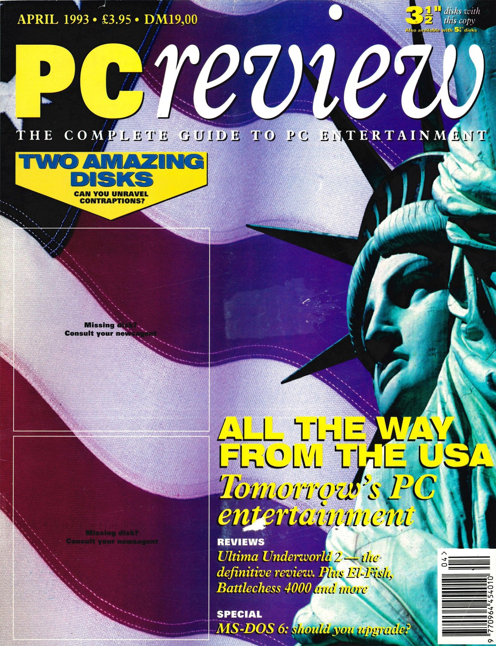 PC Review Issue 18 (April 1993)