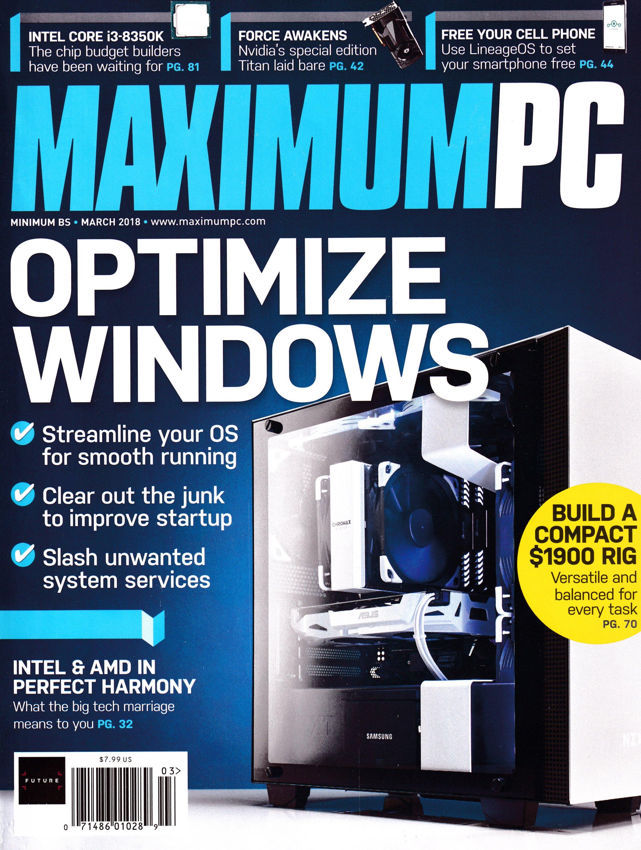 Maximum PC Volume 23 No 03 (March 2018)