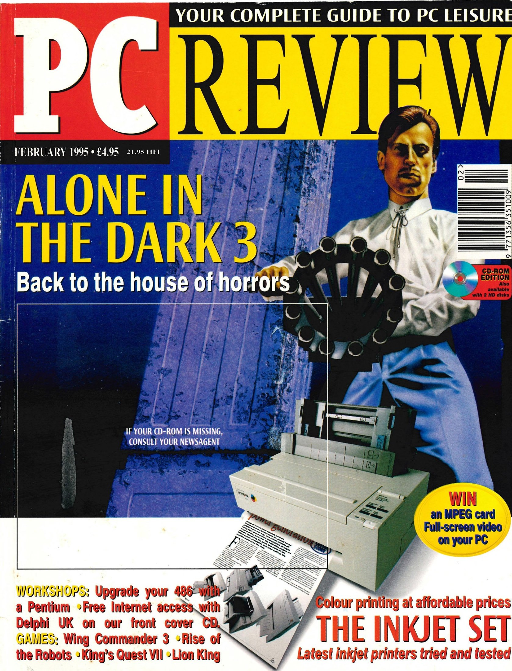 PC Review Issue 40 (February 1995)