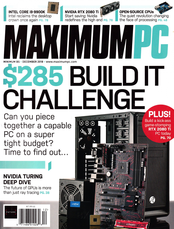 Maximum PC Volume 23 No 13 (December 2018)