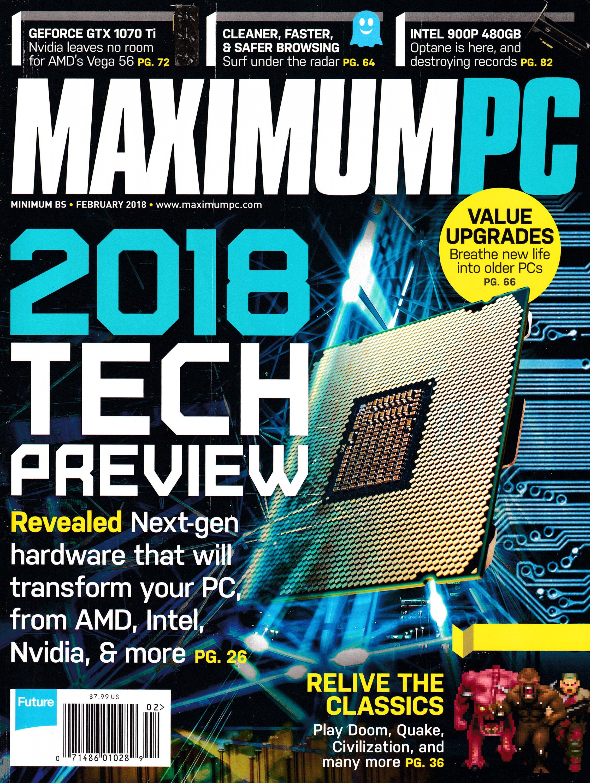 Maximum PC Volume 23 No 02 (February 2018)