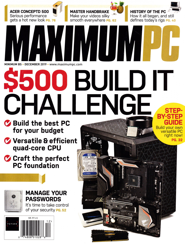 Maximum PC Volume 24 No 12 (December 2019)