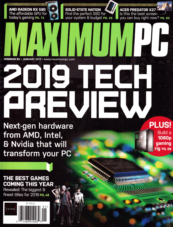 Maximum PC Volume 24 No 01 (January 2019)