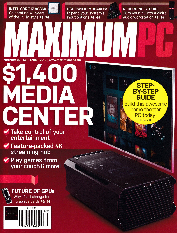 Maximum PC Volume 23 No 10 (September 2018)