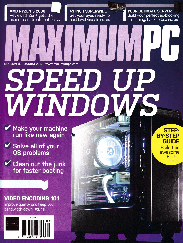 Maximum PC Volume 23 No 09 (August 2018)