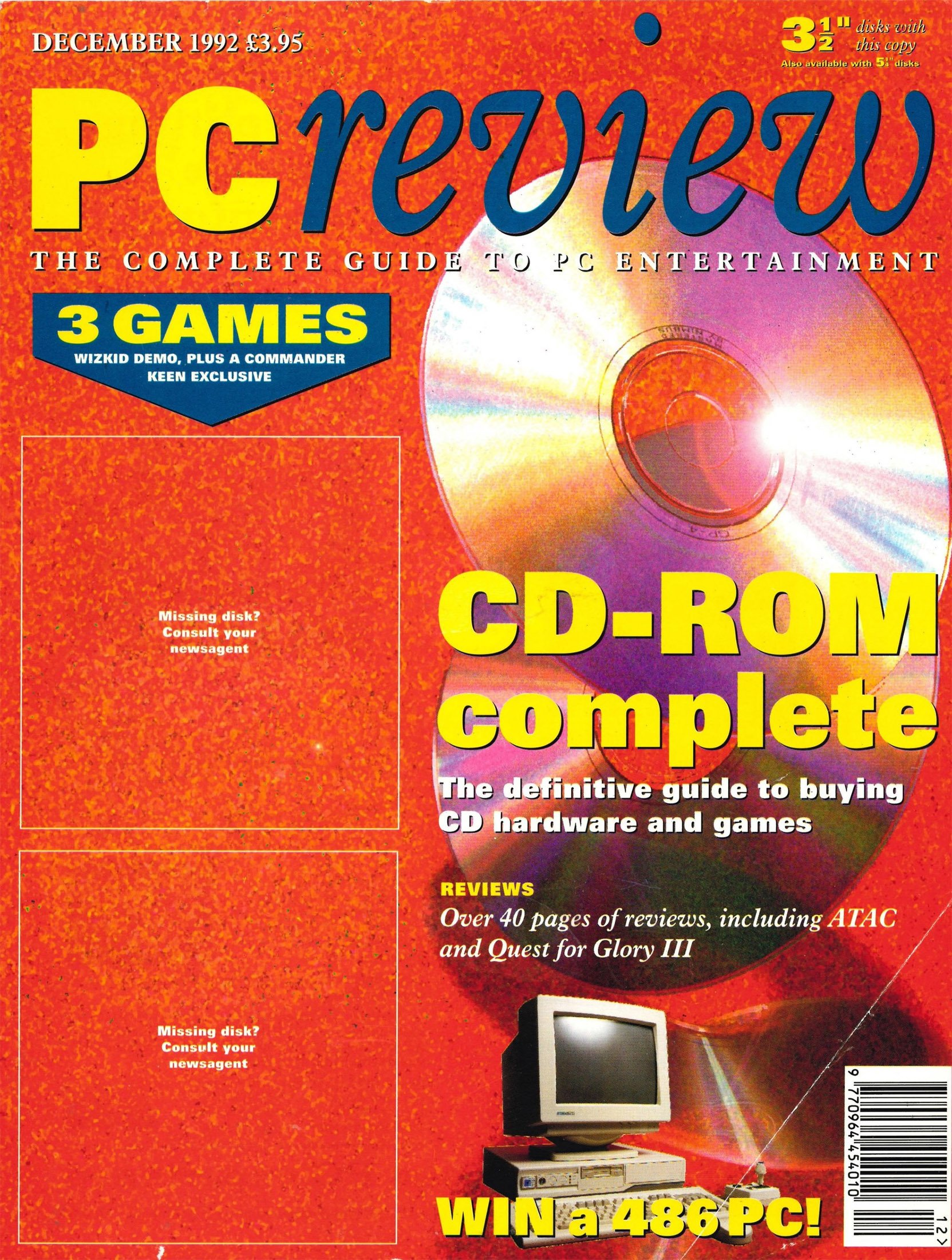 PC Review Issue 14 (December 1992)