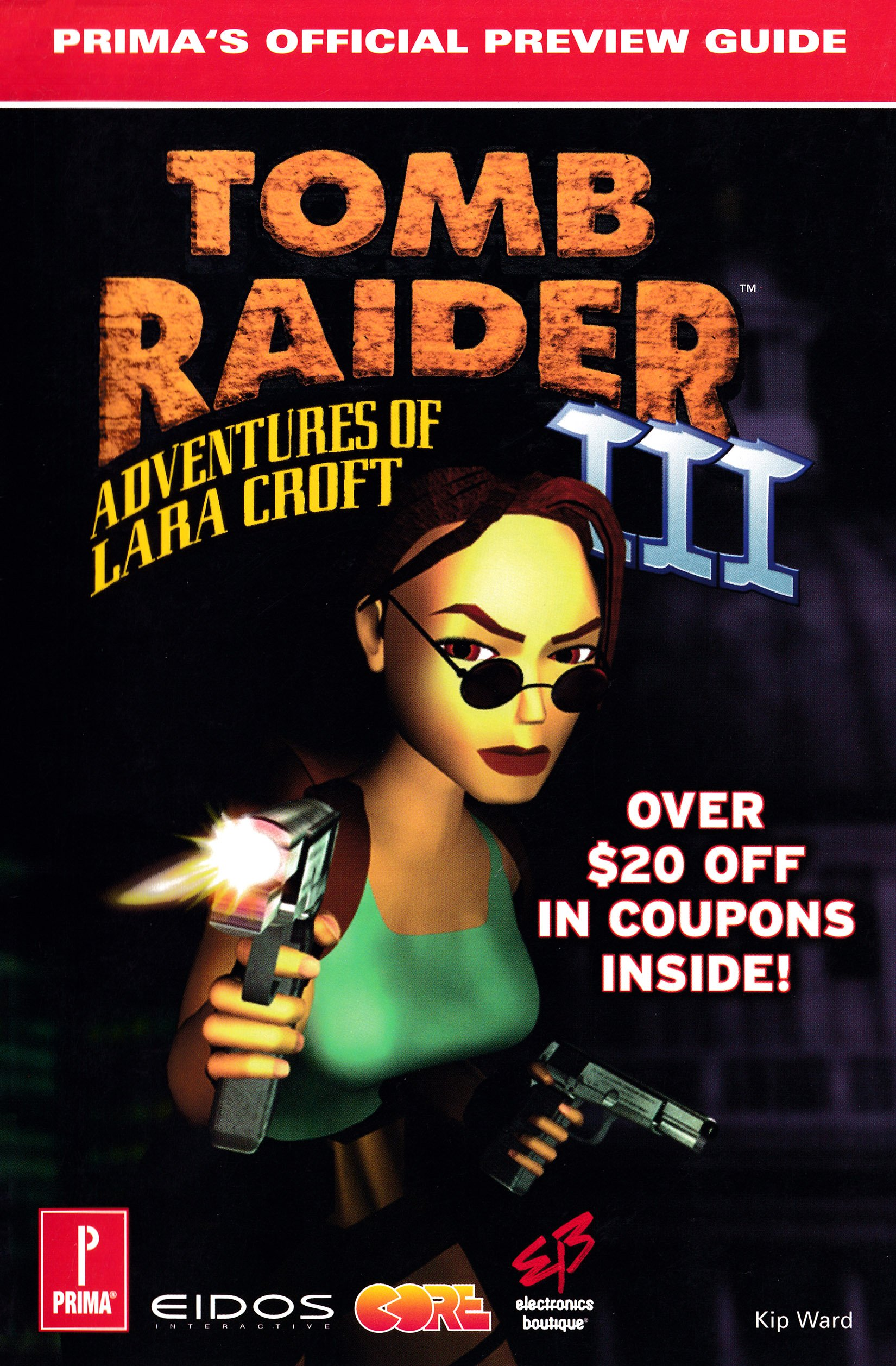 Tomb Raider III - Prima's Official Preview Guide