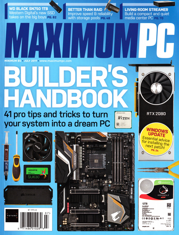 Maximum PC Volume 24 No 07 (July 2019)