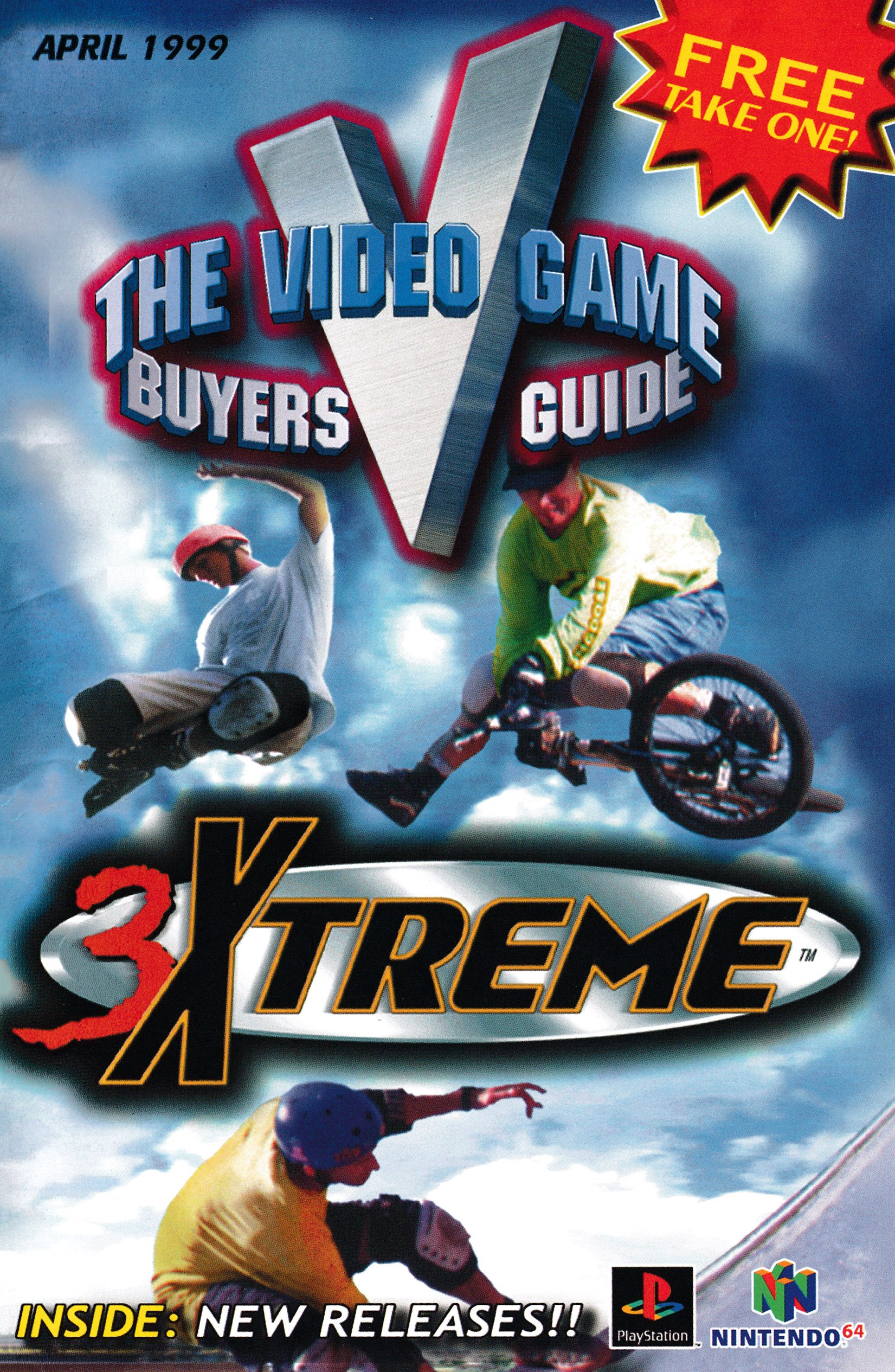 The Video Game Buyers Guide (April 1999)