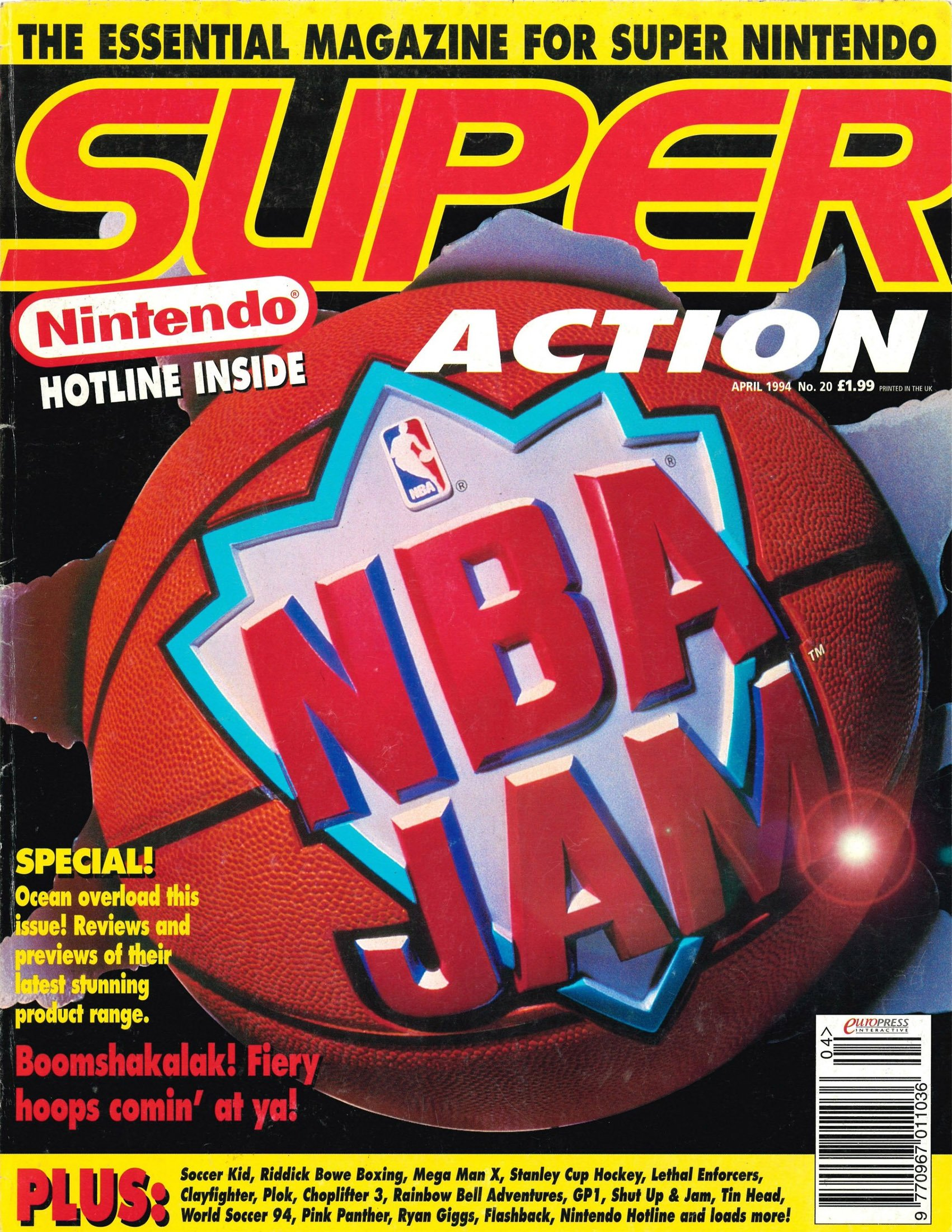Super Action Issue 20 (April 1994)