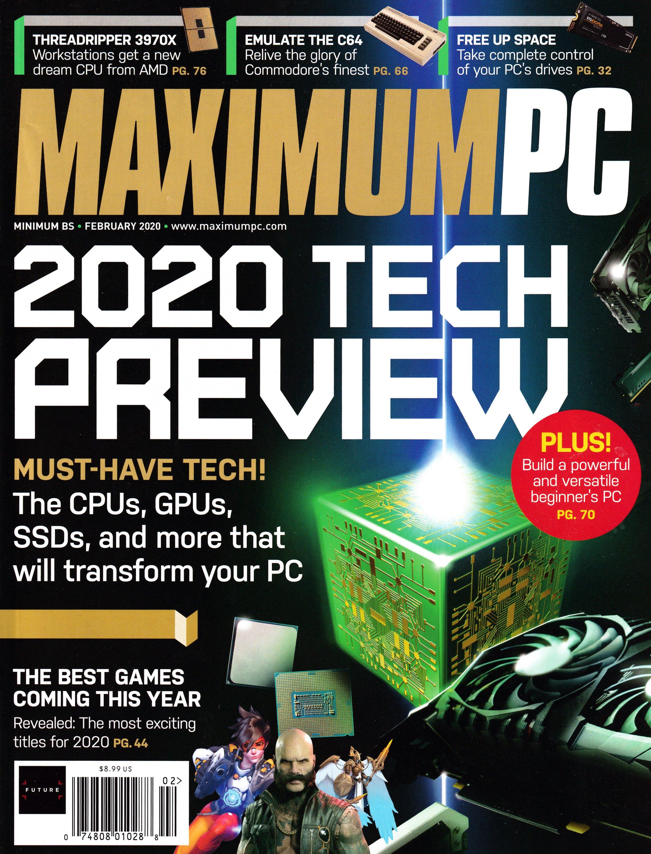 Maximum PC Volume 25 No 02 (February 2020)