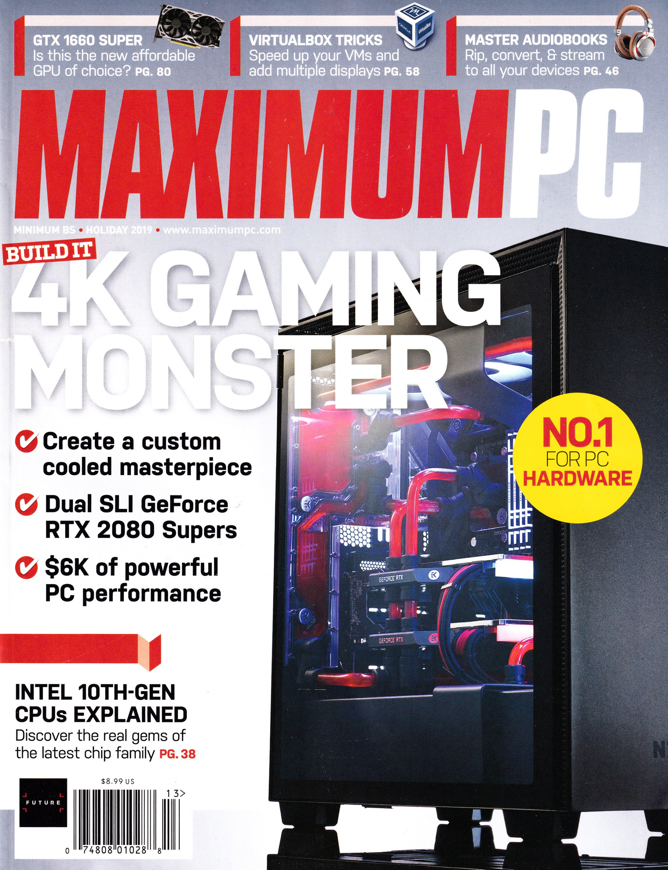 Maximum PC Volume 24 No 13 (January 2019)