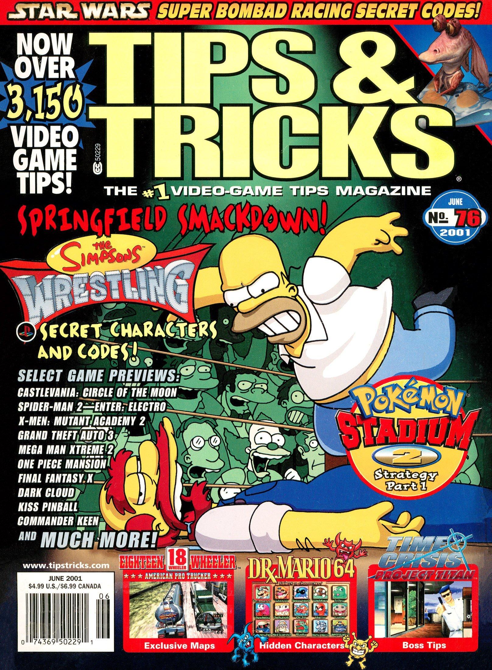 Tips & Tricks Issue 076 June 2001