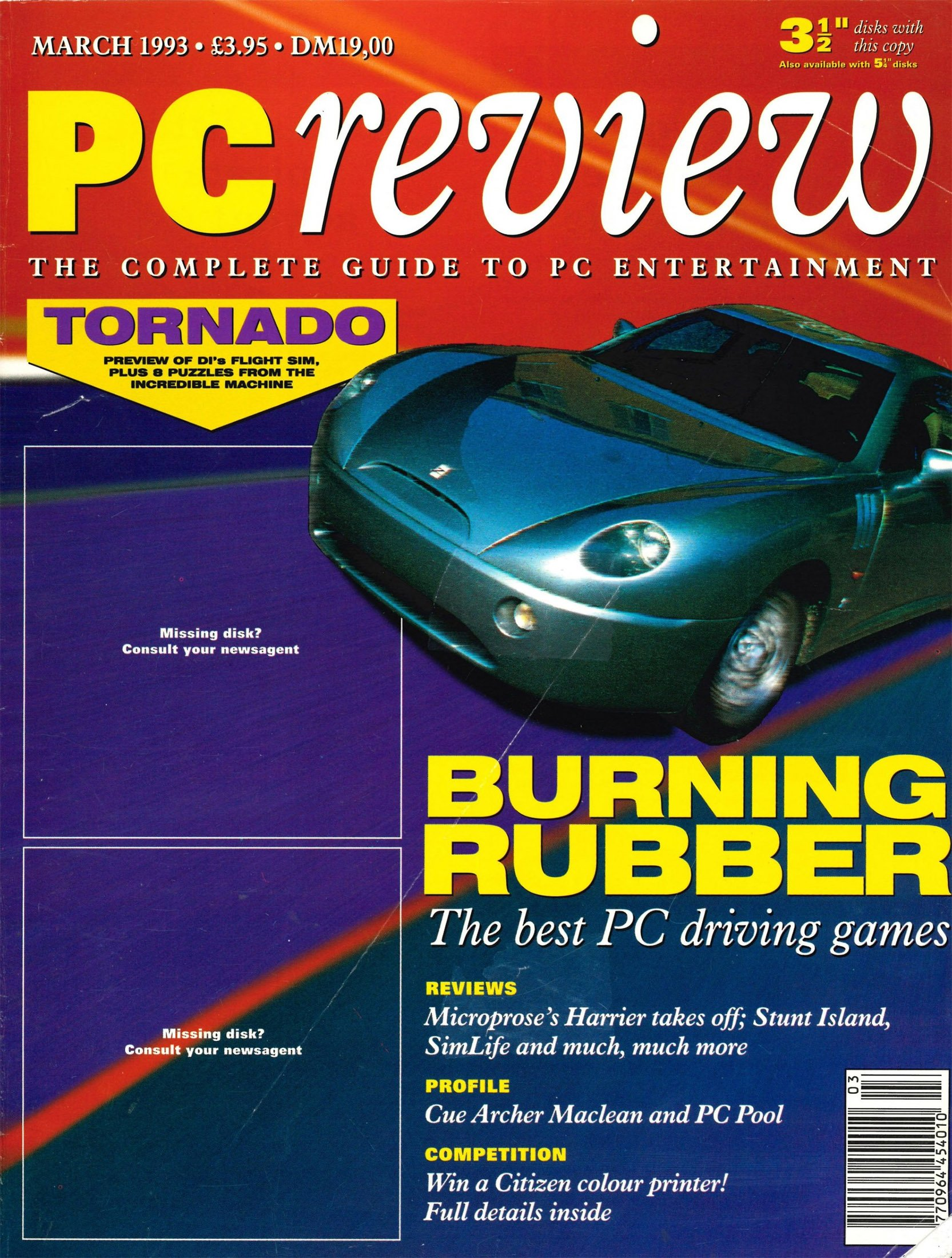 PC Review Issue 17 (March 1993)