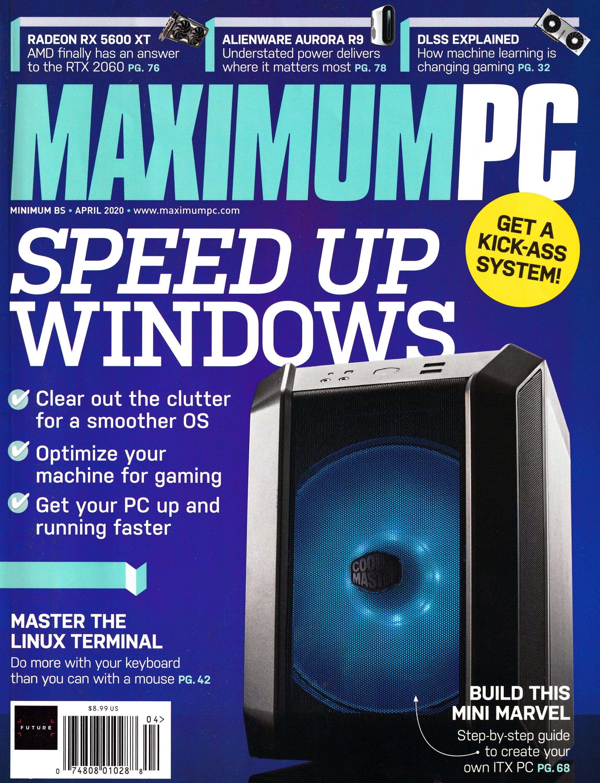 Maximum PC Volume 25 No 04 (April 2020)