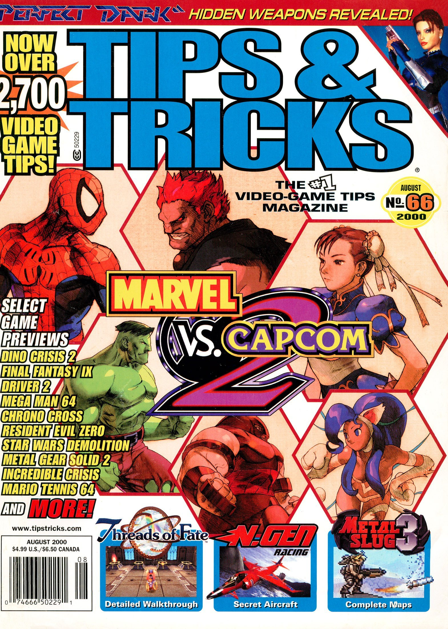 Tips & Tricks Issue 066 (August 2000)