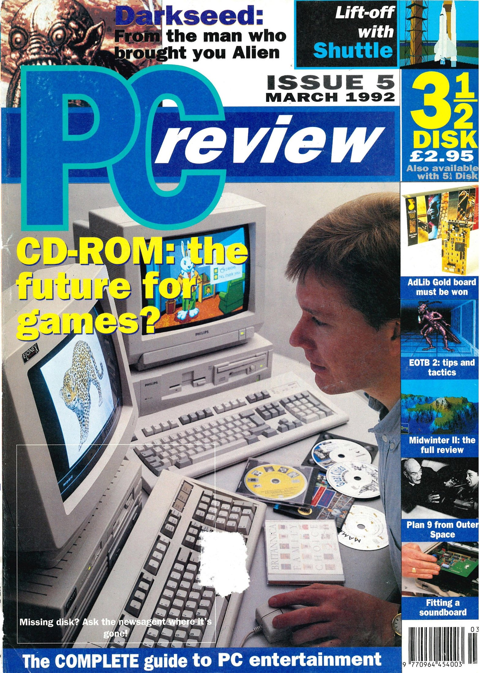 PC Review Issue 05 (March 1992)