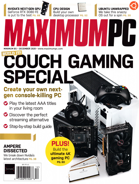 Maximum PC Volume 25 No 12 (December 2020)