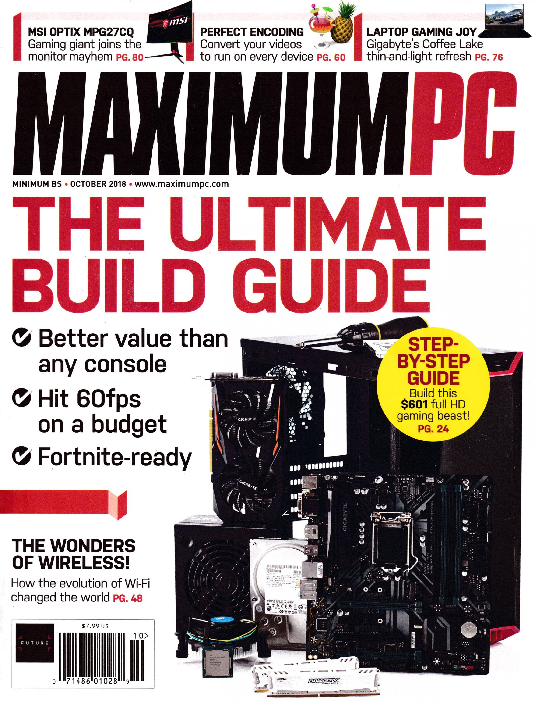 Maximum PC Volume 23 No 11 (October 2018)