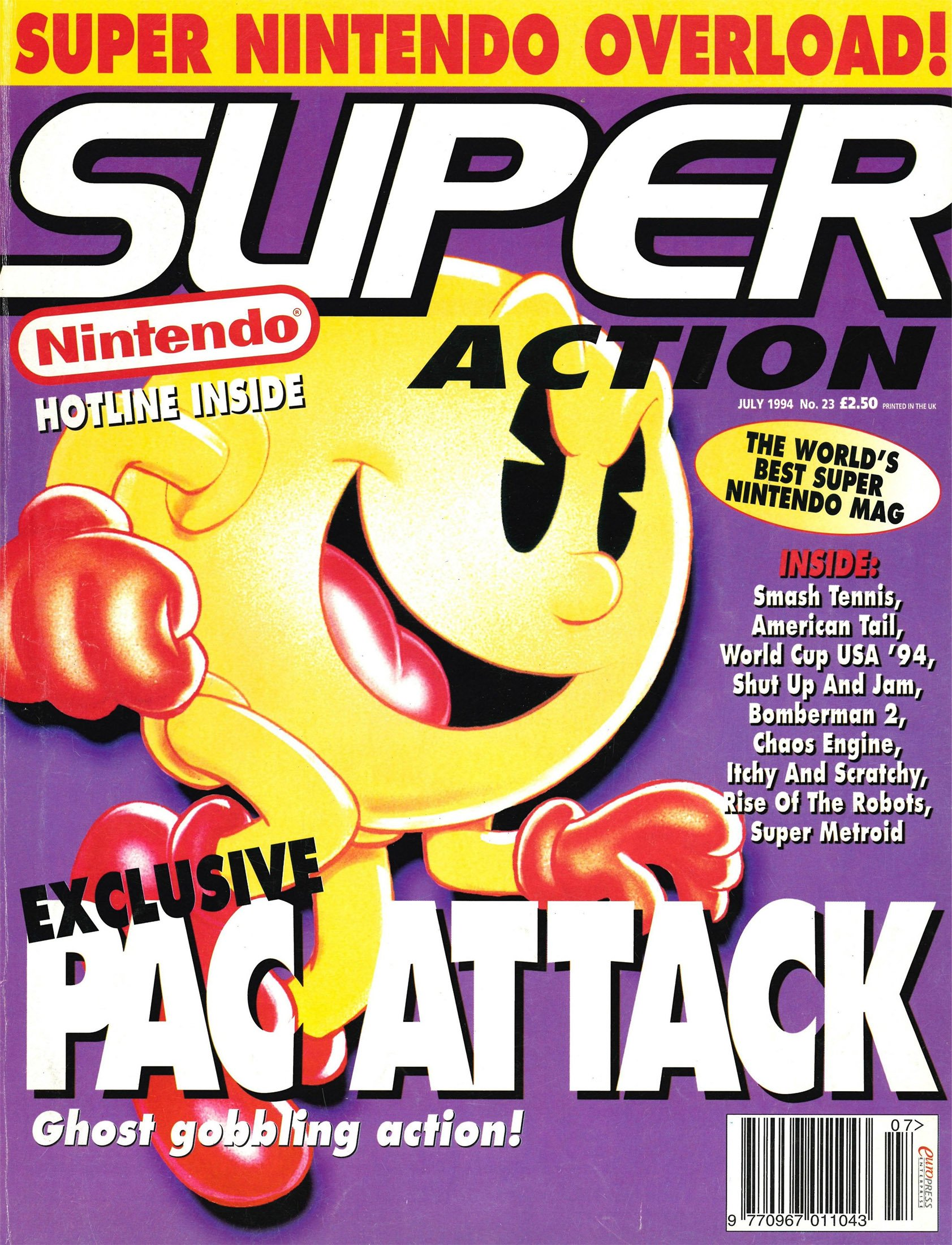 Super Action Issue 23 (July 1994)