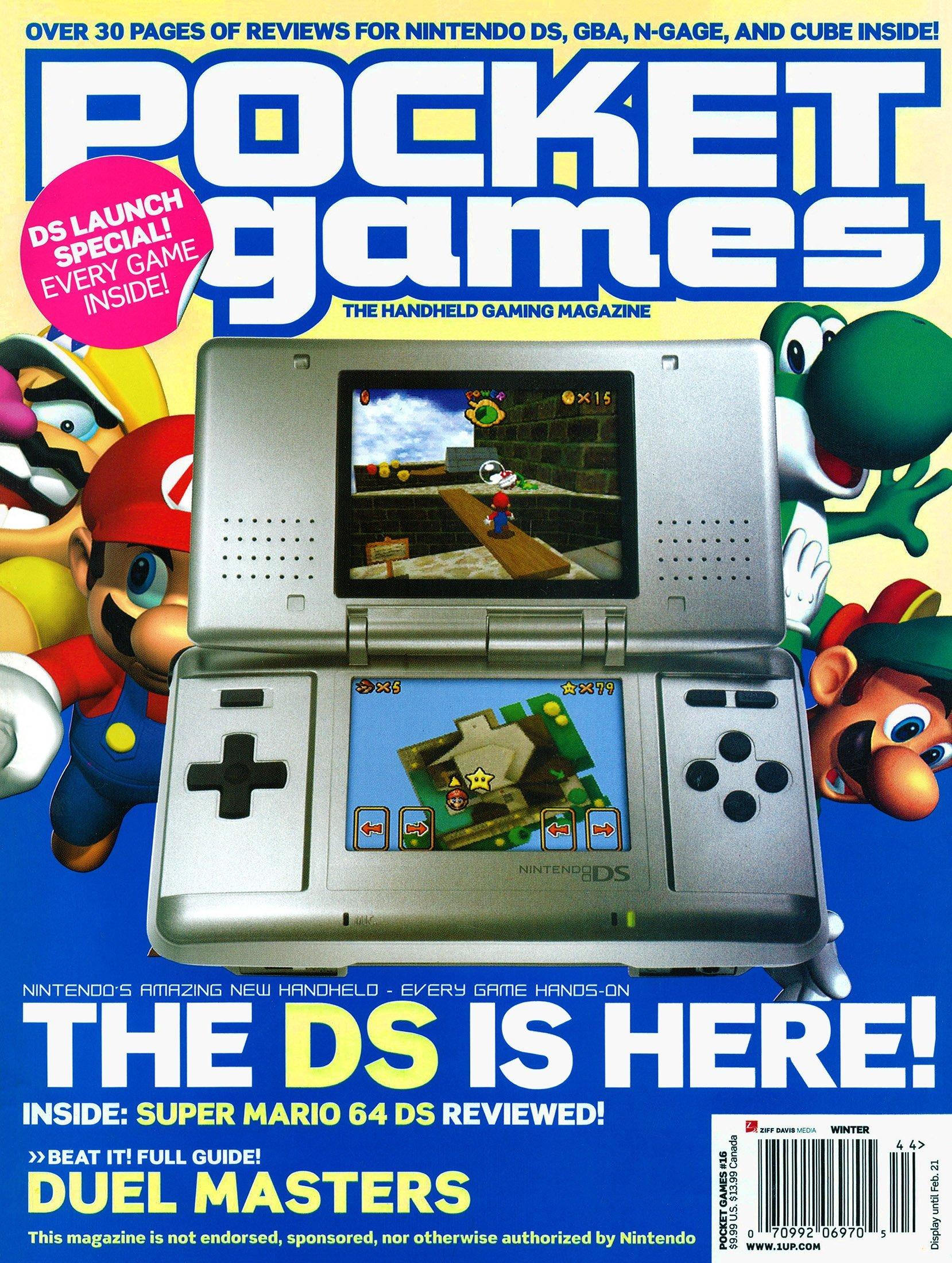 Pocket Games Issue 16 (Winter 2005)