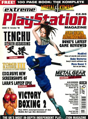 Extreme Playstation Issue 10 (October 1998)