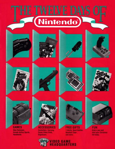 The Twelve Days of Nintendo (March 1992)