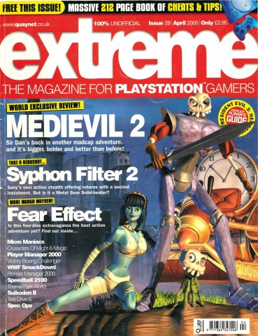 Extreme Playstation Issue 28 (April 2000)