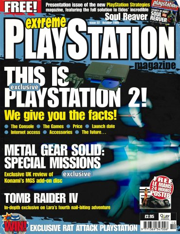 Extreme Playstation Issue 22 (October 1999)