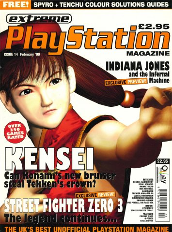 Extreme Playstation Issue 14 (February 1999)