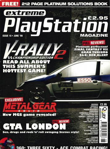 Extreme Playstation Issue 18 (June 1999)