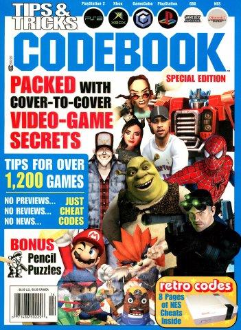 Tips & Tricks 2004 Video Game Codebook