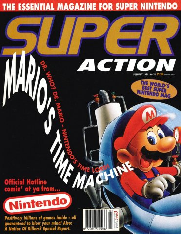 Super Action Issue 18 (February 1994)