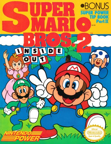 Super Mario Bros. 2 Inside Out - Super Power Tip Book Part II (1989)