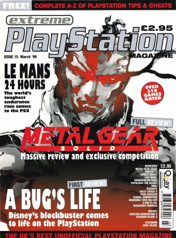 Extreme Playstation Issue 15 (March 1999)