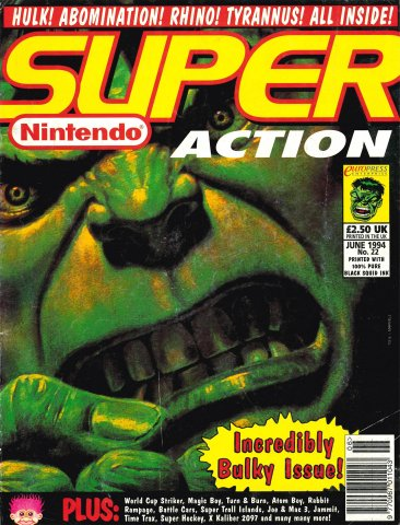Super Action Issue 22 (June 1994)