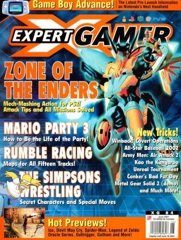 Expert Gamer Issue 84 (June 2001)