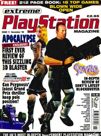 Extreme Playstation Issue 11 (November 1998)
