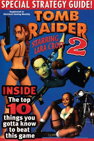 Tomb Raider 2 Special Strategy Guide-Ian Livingstone's Deathtrap Dungeon (EGM Supplement)