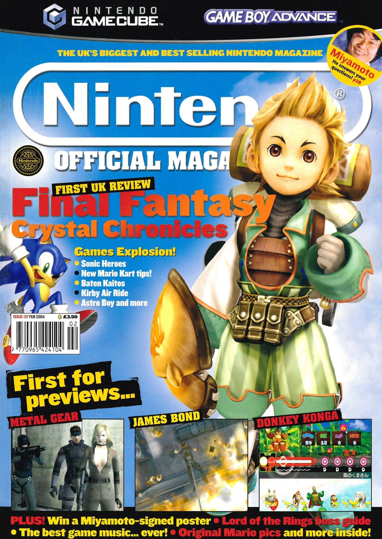Nintendo Official Magazine 137 (February 2004)