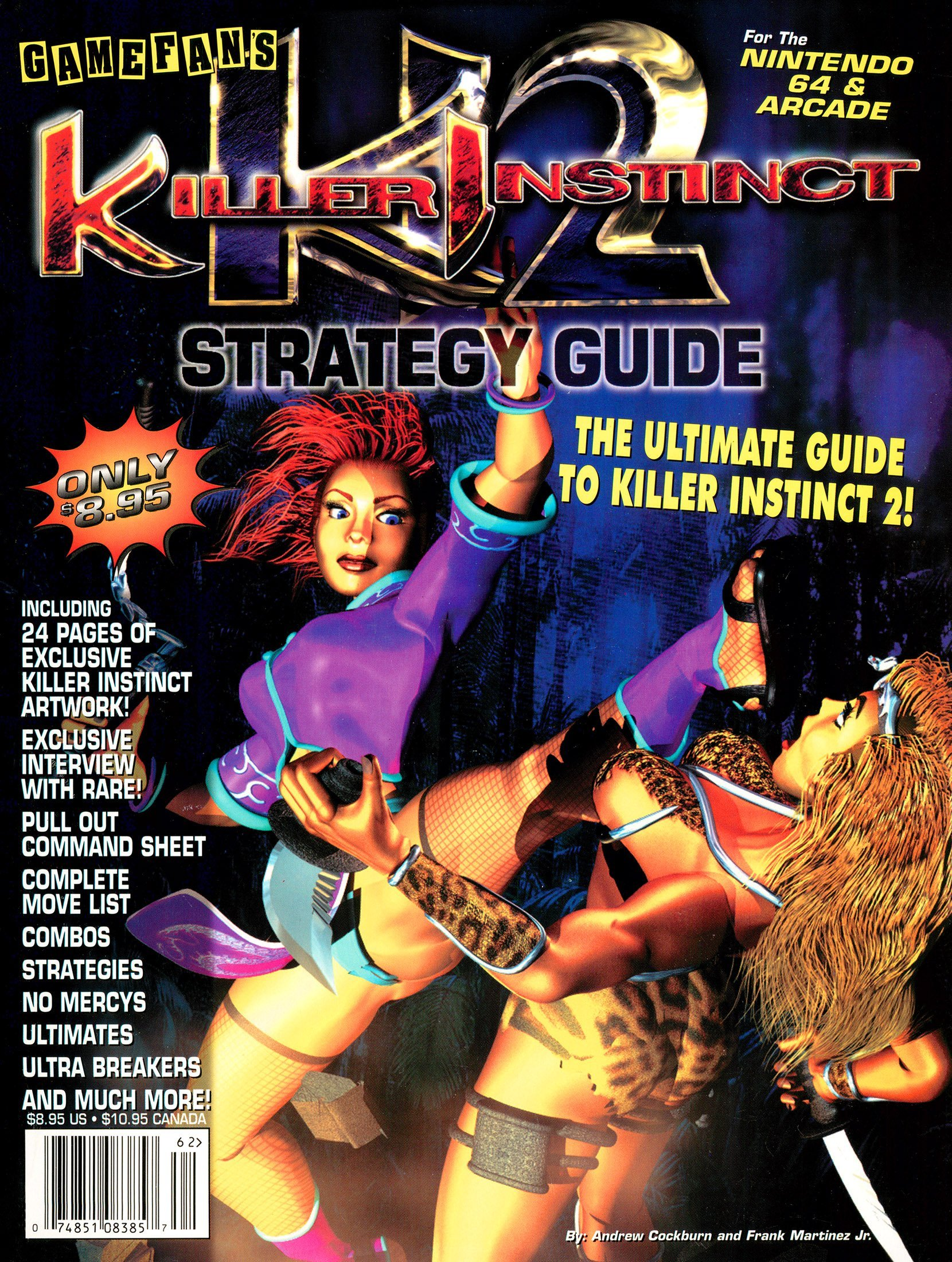 Killer Instinct 2 Strategy Guide
