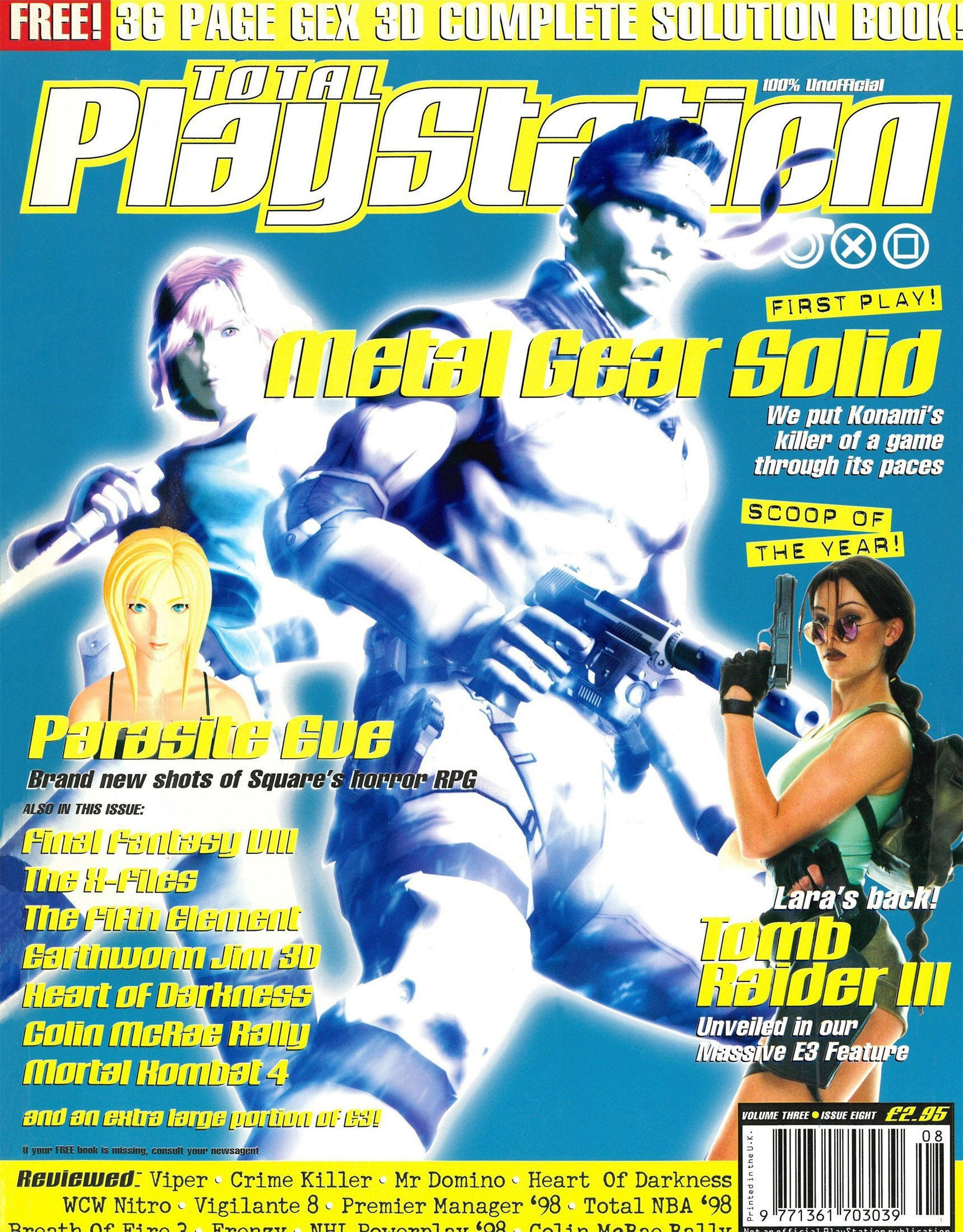 Total Playstation Issue 32 (August 1998)