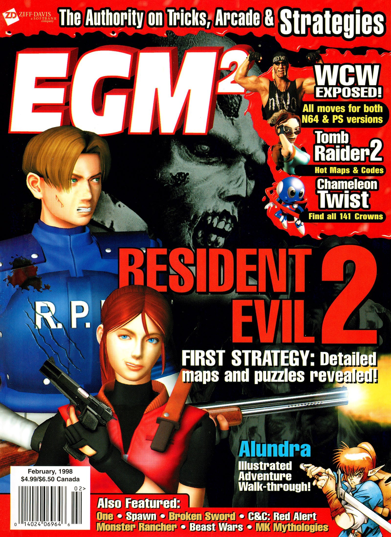 EGM2 Issue 44 (February 1998)