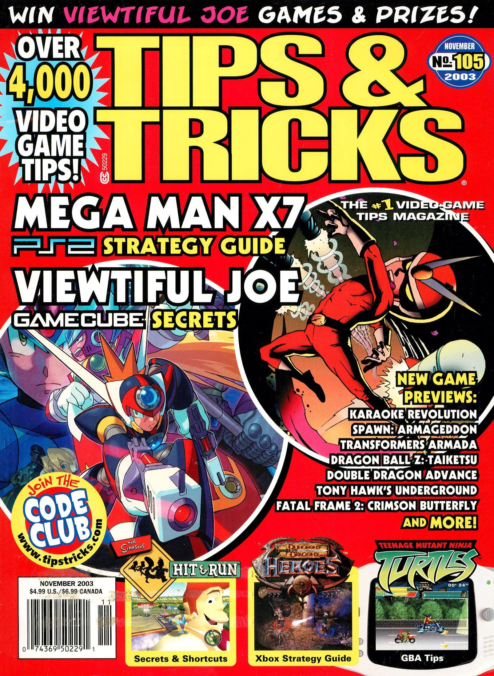 Tips & Tricks Issue 105 November 2003